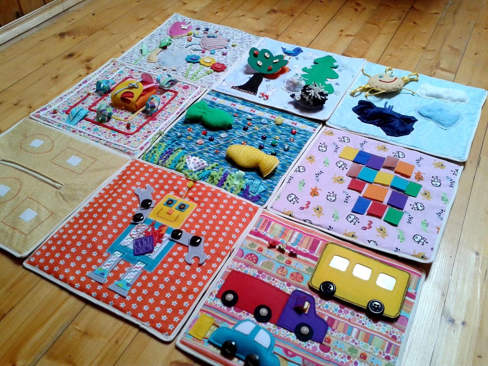 Шьём летний развивающий коврик для малыша