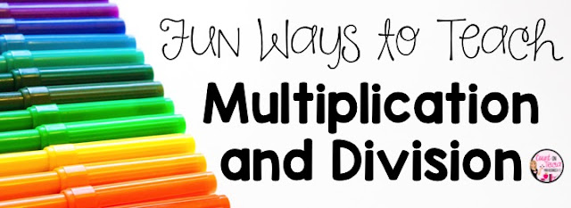 fun ways to teach multiplication facts and division facts