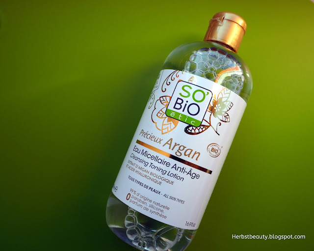 Cleansing Toning Lotion von So'Bio étic