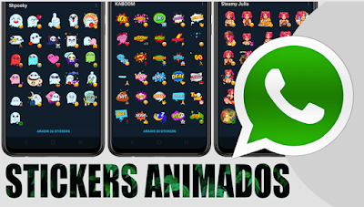 Stickers animados d telegram en whatsapp facil y rapido