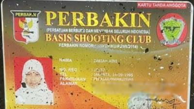 Geger KTA Shooting Club Milik Zakiah Aini Diklarifikasi Perbakin
