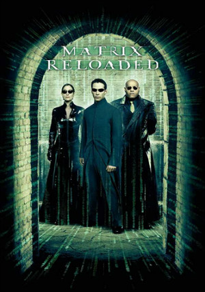 Poster Matrix Reloaded 2003 Full Movie Download 720p Dual Audio Hindi