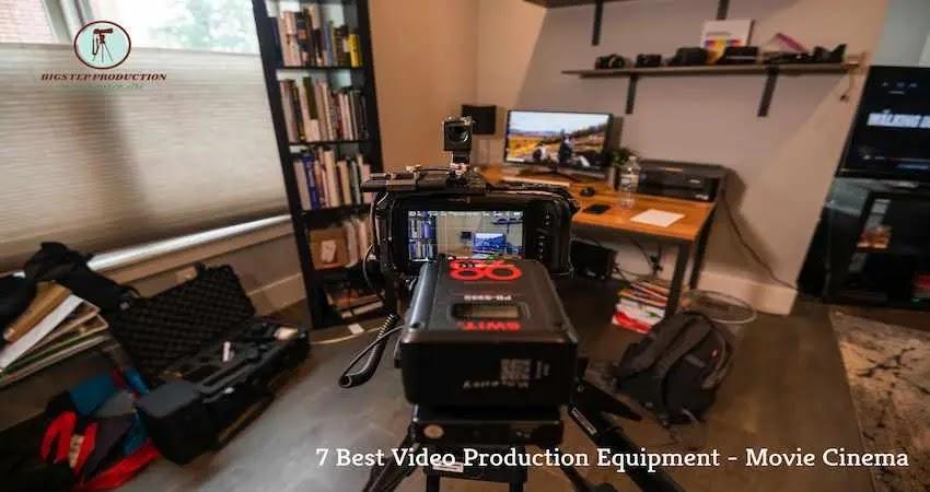 أفضل 7 معدات لإنتاج الفيديو - مثل فيلم سينما