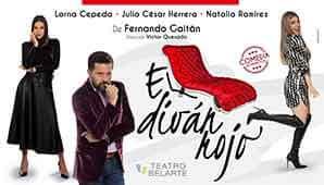 Comedia musical EL DIVAN ROJO | Teatro Belarte