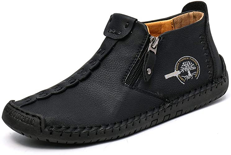 Mens Casual Leather Loafers 50% off