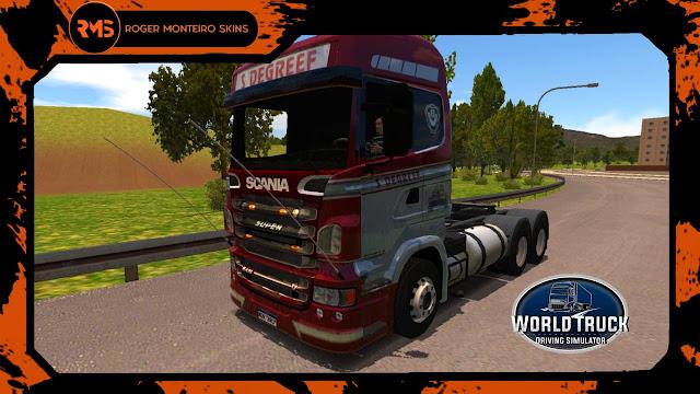 Scania R360 S Degreef - Roger Monteiro Skins