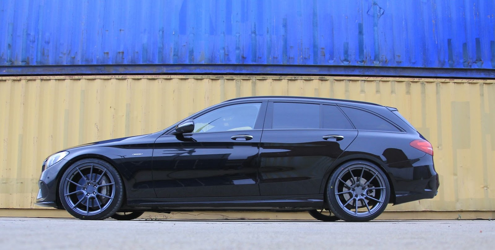2016 mercedes benz s205 c450 on 20 ispiri ffr6 wheels. Black Bedroom Furniture Sets. Home Design Ideas