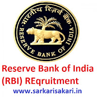 Reserve Bank of India (RBI) REqruitment
