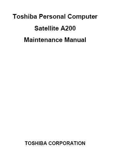 toshiba satellite a200 service manual download service manual rh servicemanualguidepdf blogspot com toshiba satellite a200 service manual