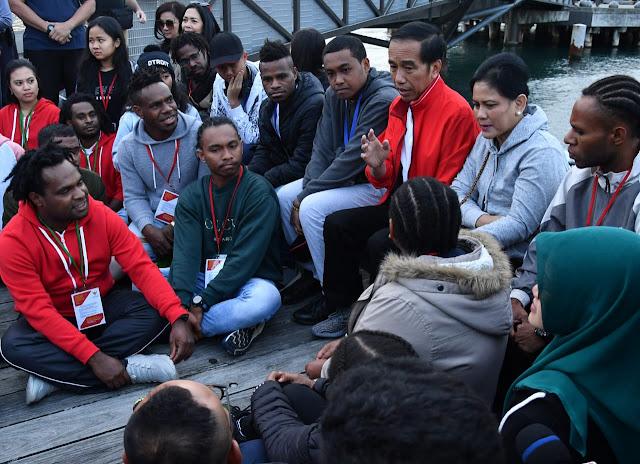 Presiden Bincang Santai Dengan Pelajar Indonesia di Wellington