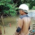 Nelayan Muara Gembong Bekasi Temukan Potongan Telapak Kaki Manusia
