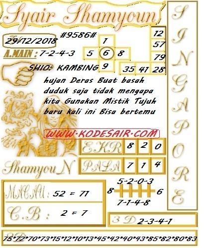 Kode Jitu Singapur