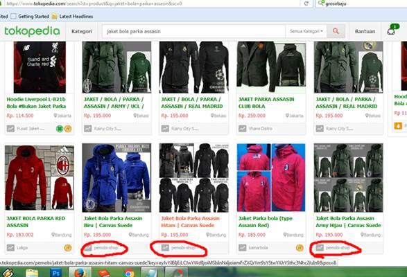 Mempromosikan produk di situs jual beli online gratis tokopedia