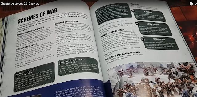 Objetivos Tácticos Warhammer 40,000