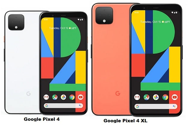Google Pixel 4 Vs Google Pixel 4 XL Specs Comparison