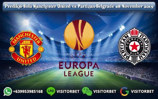Prediksi Skor Manchester United vs Partizan Belgrade 08 November 2019
