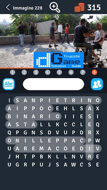 8 Parole Intrecciate (Unreleased) soluzione livello 221-230
