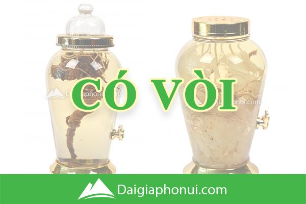 Bình Ngâm Rượu Hàn Quốc (Yongcheon Glass) Có Van/Vòi - Dai Gia Pho Nui