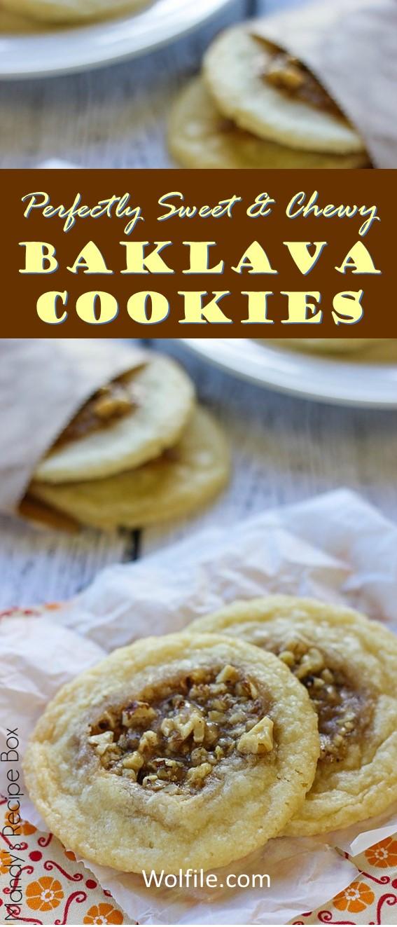 BAKLAVA COOKIES #Cookies