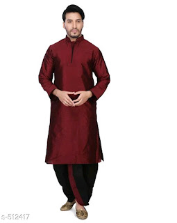 Art Silk Dhoti Kurta Sets