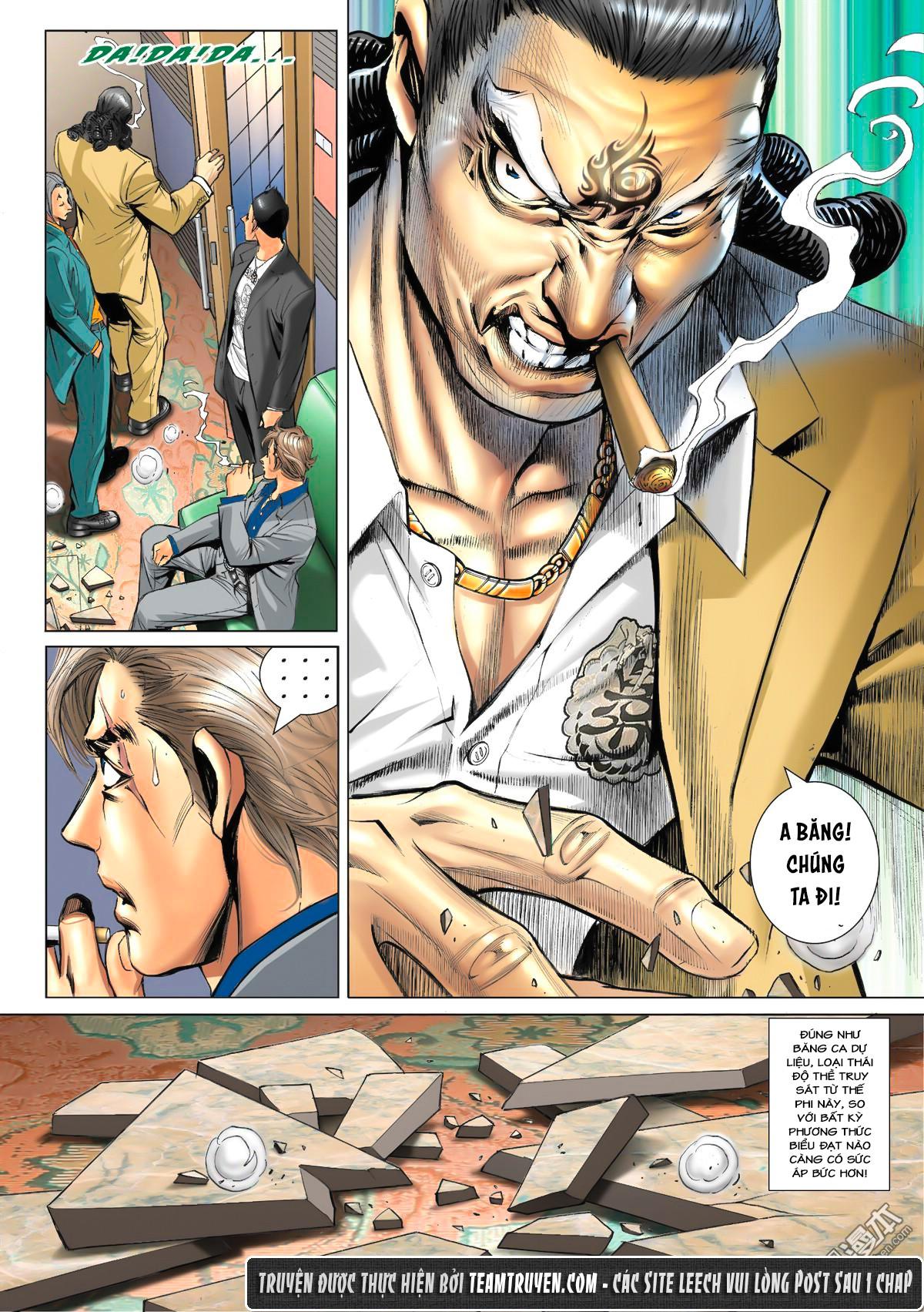Người Trong Giang Hồ NetTruyen chap 1533 - Trang 13