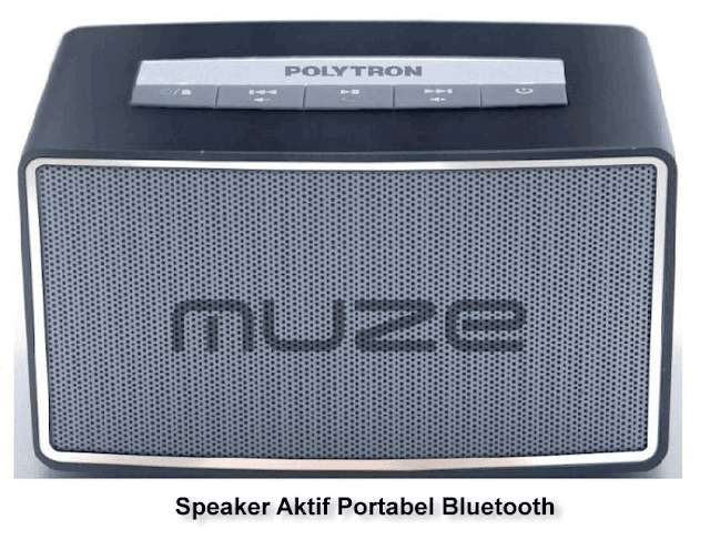 speaker aktif bluetooth polytron portabel