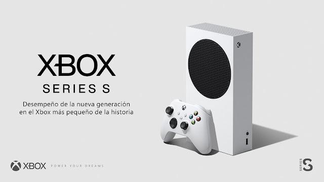 Especificaciones XBOX Series S
