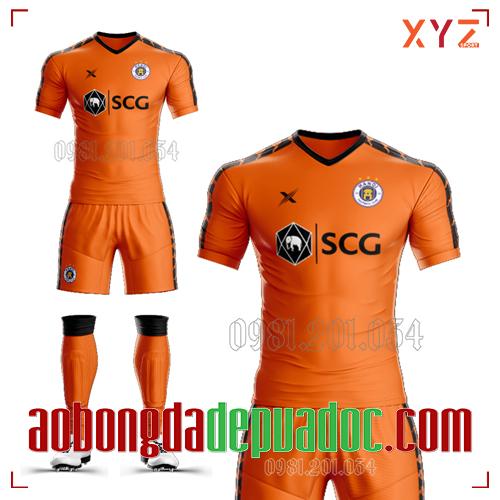 Áo Hà Nội FC 2020 Màu Cam Đẹp Và Độc
