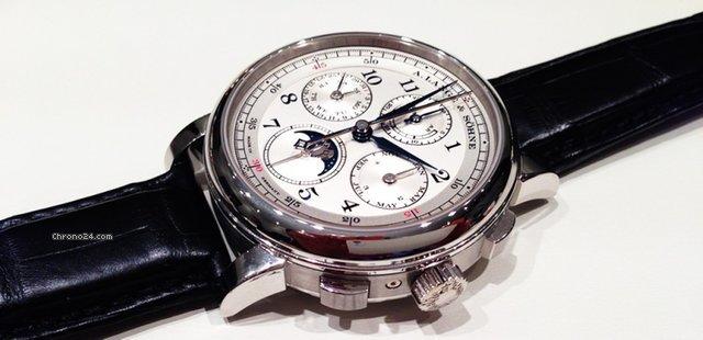 Réplicas De Relojes A. Lange & Söhne 1815 Rattrapante Perpetual Revisión