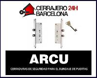 cerradura de embutir arcu 319