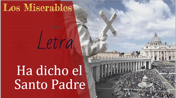 """🎭Pasodoble al Papa ✍CON LETRA✍ """"Ha dicho el Santo Padre"""" de la Comparsa """"Los Miserables"""" (1993)"""