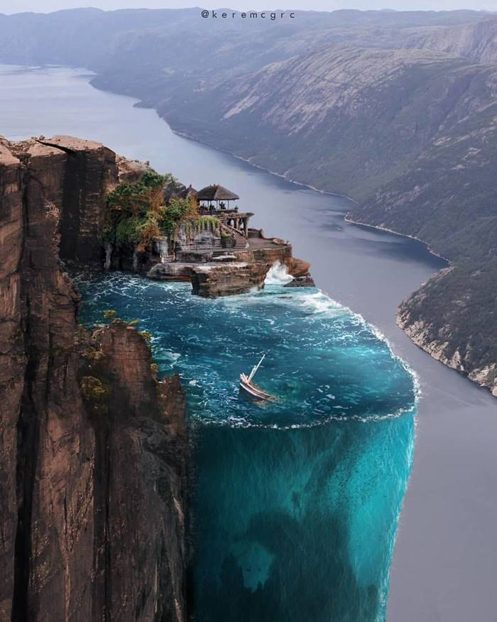 Fascinating photo manipulations by Turkish photo artist Kerem Ciğerci