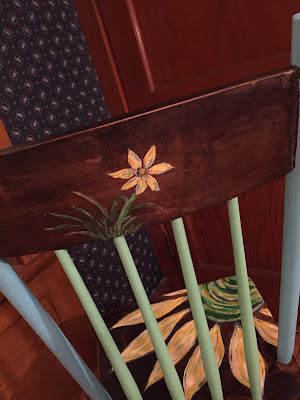 #millsnewhouse Painted Chair