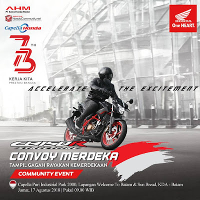 Convoy Merdeka Batam 2018