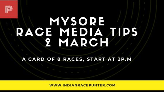 Mysore Race Media Tips 2 March