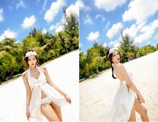 Gái xinh facebook hàn quốc Cho Min Yeong