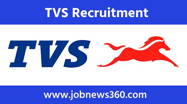 TVS Motor, Hosur Recruitment 2021 for Govt Apprentice/Trainee