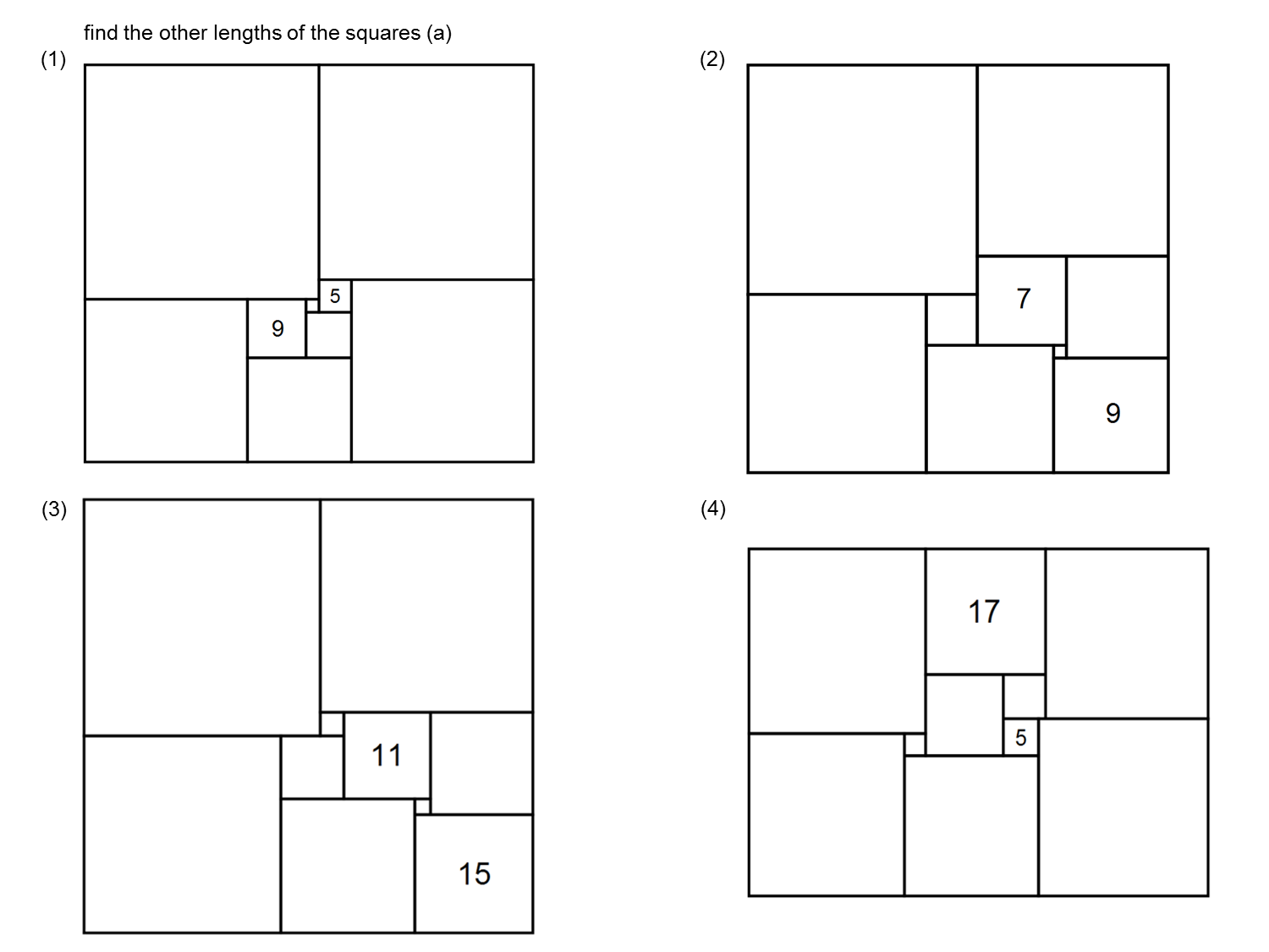Median Don Steward Mathematics Teaching Squares Inside