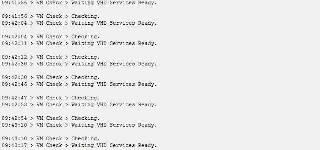 Solusi CBT Sync ANBK checking Waiting VHD Serviss ready terus-terusan