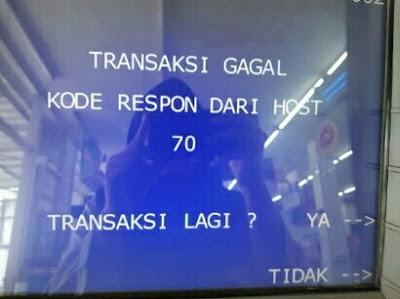 Kode Respon dari Host 70