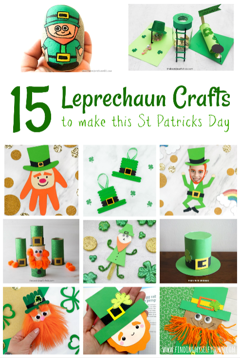 leprechaun crafts to make for st patricks day