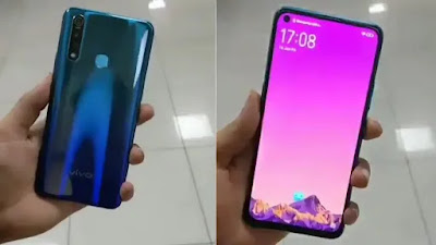 Vivo Z1 Pro Leaked Hands-On Images Show Triple Rear Cameras, Hole Punch Display, Gradient Design