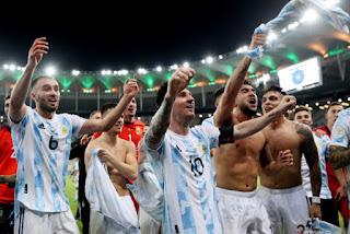 Kalahkan Brazil 1-0, Argentina juarai Copa America 2021