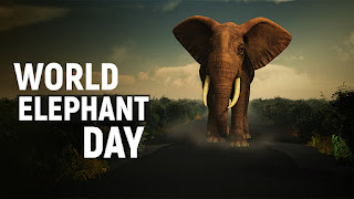 WORLD ELEPHANT DAY 2021 :Know all about