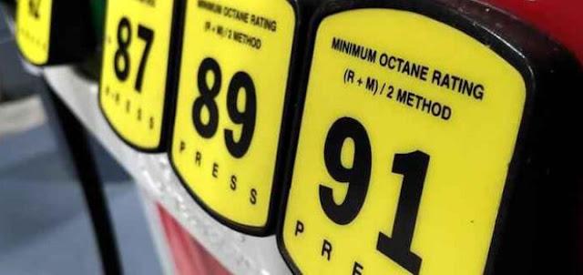 Бензин американский и европейский