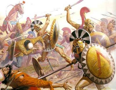 spartan hoplites, leonidas