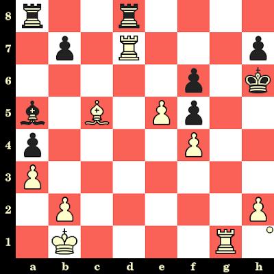Les Blancs jouent et matent en 4 coups - Lev Polugaevsky vs Gyorgy Szilagyi, Moscou, 1960