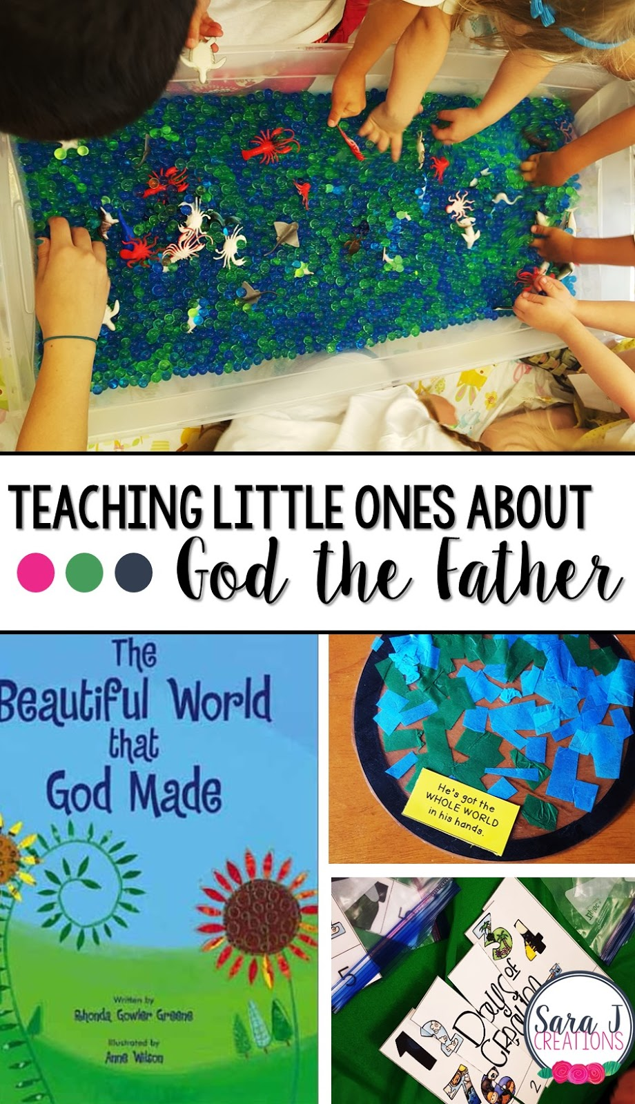 Teaching Preschoolers About God the Father | Sara J Creations