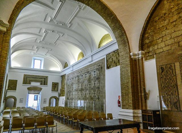 mosaicos romanos no Alcázar de los Reyes Cristianos, Córdoba, Andaluzia