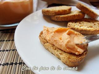 Paté de merluza y surimi